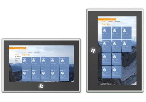 Windows 8 portrait apps