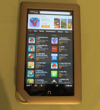 How to sideload apps on the NOOK Tablet (Amazon Appstore, GO