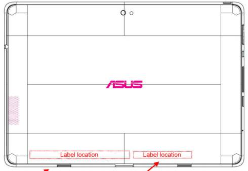 Asus Eee Pad Transformer Prime FCC