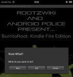 How to root a Kindle Fire running OS 6.2.1 or earlier