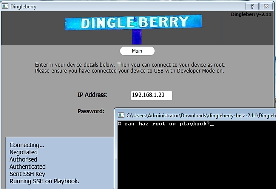 How to root a BlackBerry PlayBook with DingleBerry - Liliputing