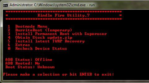 Kindle Fire Utility 0.7