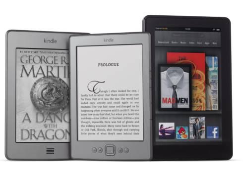 Amazon Kindle family