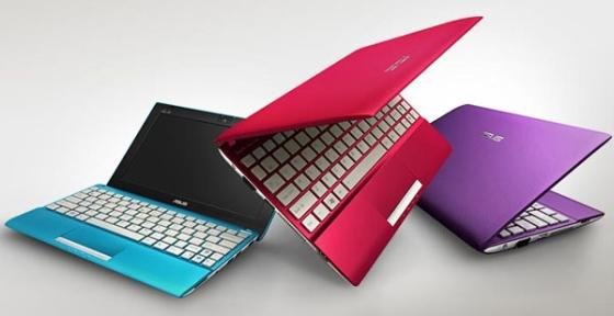 Asus Eee PC flare design