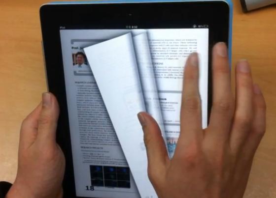 Korean researchers make eBooks more like paper books    for