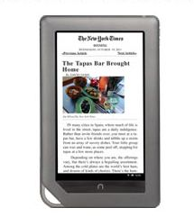 NOOK Color New York Times