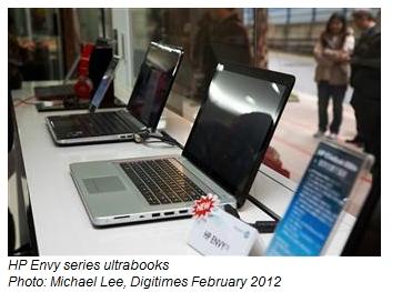 HP Envy Spectre ultrabooks