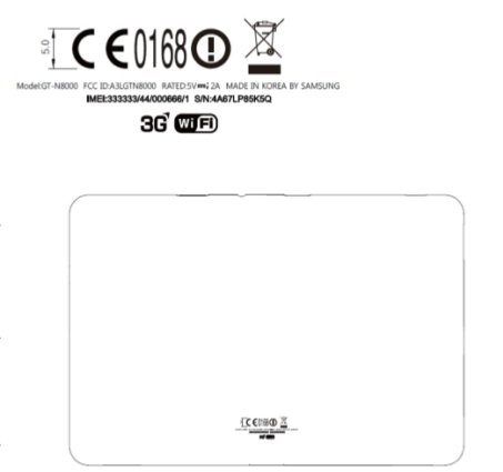 Samsung Galaxy Note at FCC