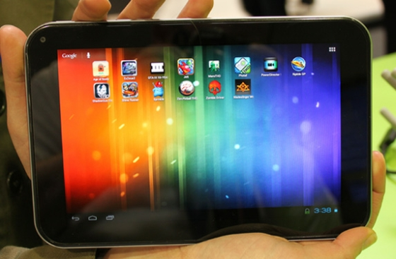 Toshiba 7.7 inch tablet