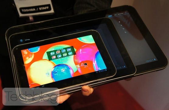 Toshiba AT330 13.3 inch tablet