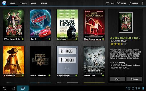 mVideoPlayer HD is a video app built for Android tablets - Liliputing