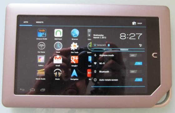 NOOK Tablet with CyanogenMod 9 Alpha