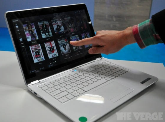 Intel touchscreen ultrabook prototype