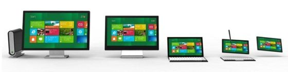Windows 8 screen sizes