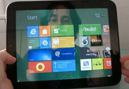 HP TouchPad Windows 8