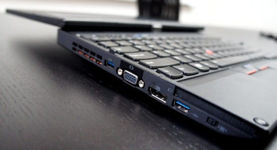 Lenovo ThinkPad X230T left side ports