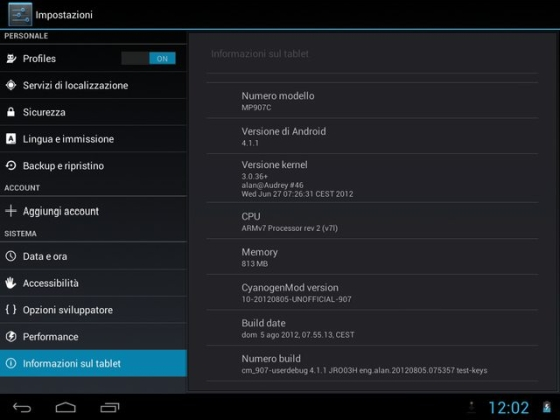 CyanogenMod 10 (Android 4 1) preview for Allwinner A10 devices
