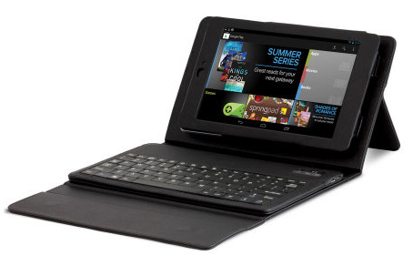 Nexus 7 Bluetooth Keyboard Case