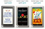 B&N drops NOOK Color, NOOK Tablet prices ($149 to $199)