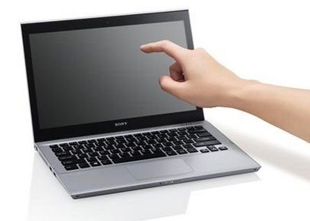 Sony Vaio T13 with touchscreen