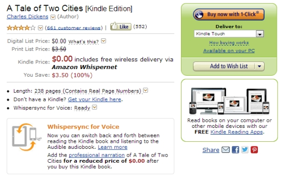 Cheapskate's guide to using an Amazon Kindle (How to find