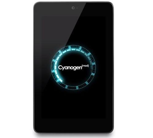 CyanogenMod 10 boot logo