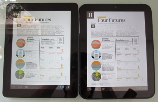 Chuwi V99 vs HP TouchPad