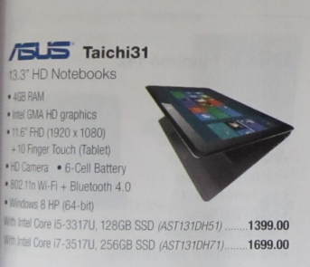 Asus Taichi31