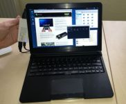 MK802 IIIS + Motorola Lapdock + PicUntu = cheap Linux laptop (video)