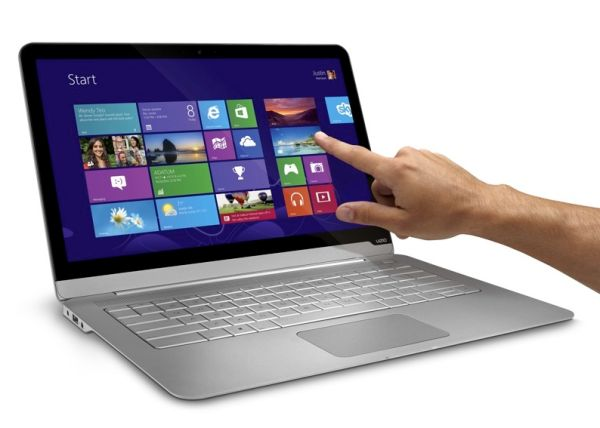 Vizio touchscreen notebook