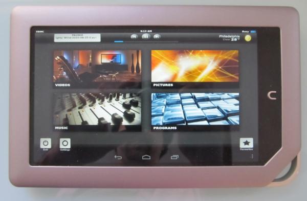 XBMC NOOK Tablet