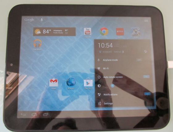 HP TouchPad with Android 4.1