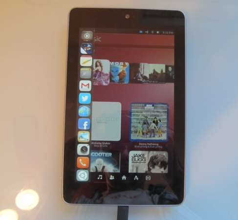 Google Nexus 7 with Ubuntu