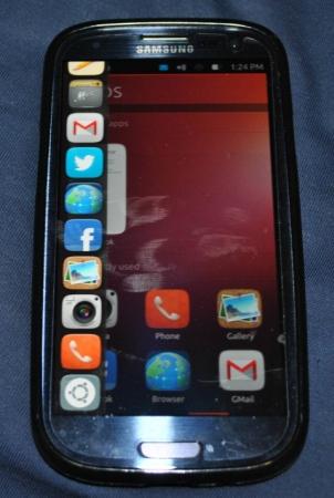 Samsung Galaxy S III Ubuntu