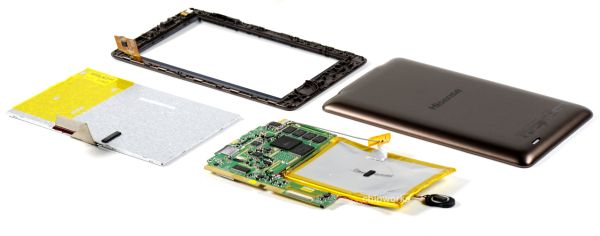 Hisense Sero 7 tablet dissected