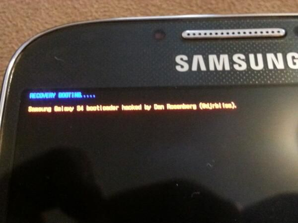 AT&T Samsung Galaxy S4 bootloader unlocked - Liliputing