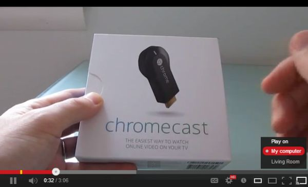 Google Chromecast streams internet video to your TV (Video) - Liliputing