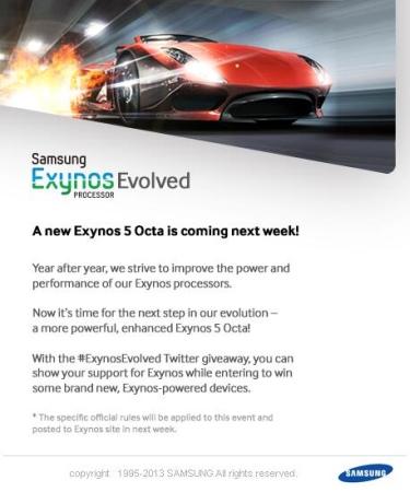 Samsung Exynos 5 Octa new