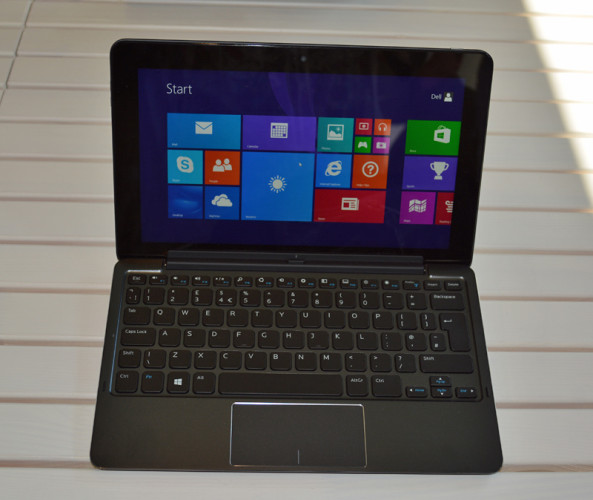 Dell Venue Pro 11 with keyboard base