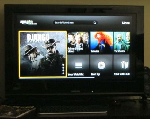 Amazon Google TV app