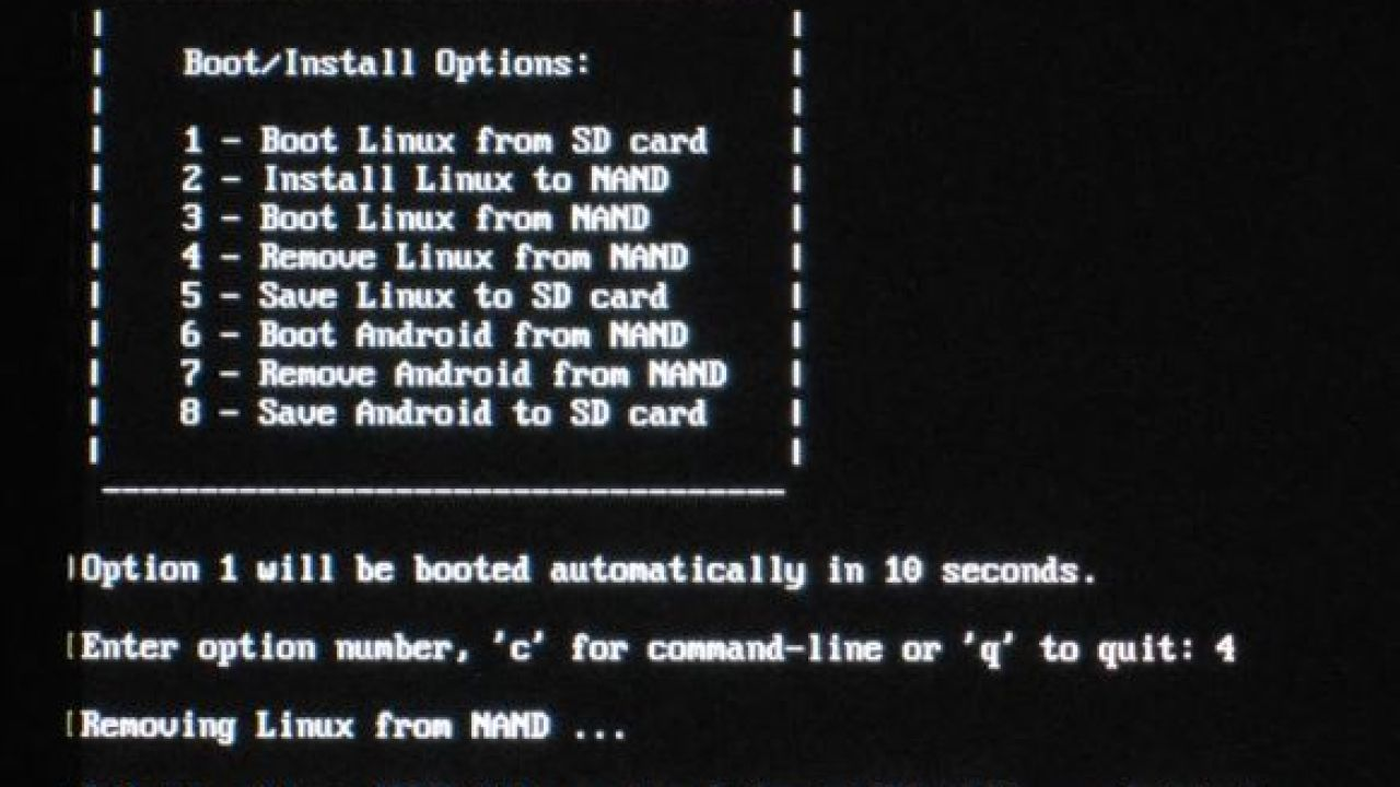 Linuxium bootloader helps you boot Linux, Android on RK3188