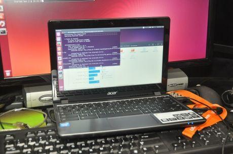 Acer C720 Chromebook with Ubuntu