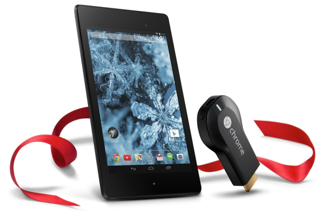 Google Nexus 7 with Chromecast