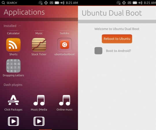 ubuntu dual boot