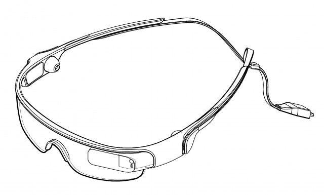 samsung galaxy glass patent
