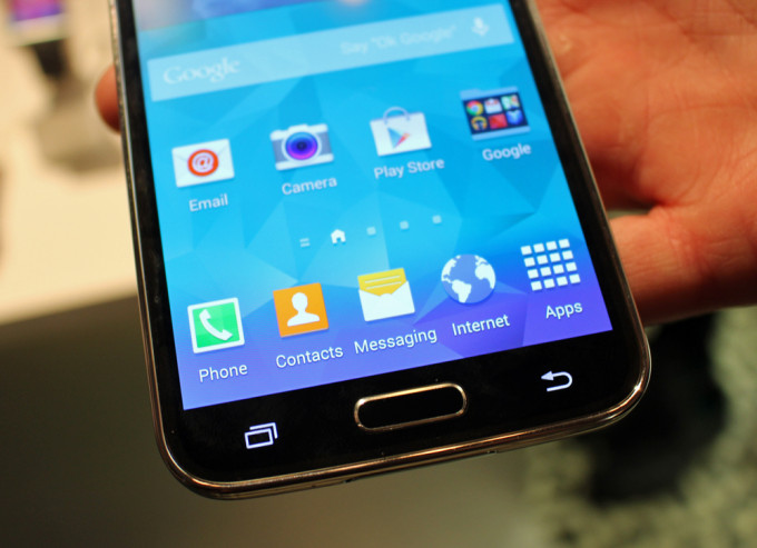 Samsung Galaxy S5 Buttons