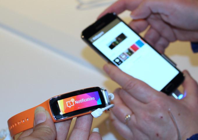 Samsung Galaxy Gear Fit Notifications