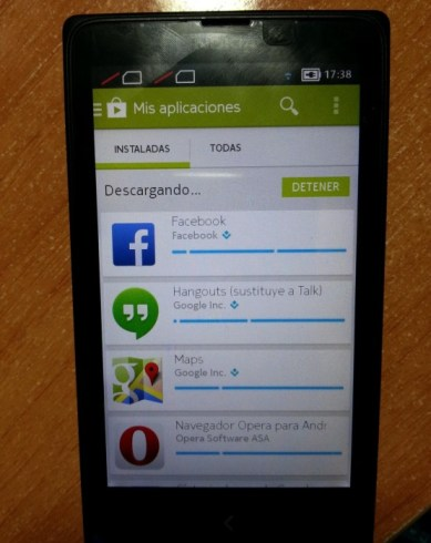 Nokia X with Google Play