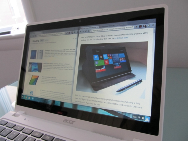 acer c720p viewing angles