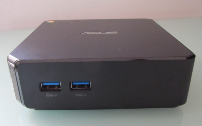 asus chromebox front